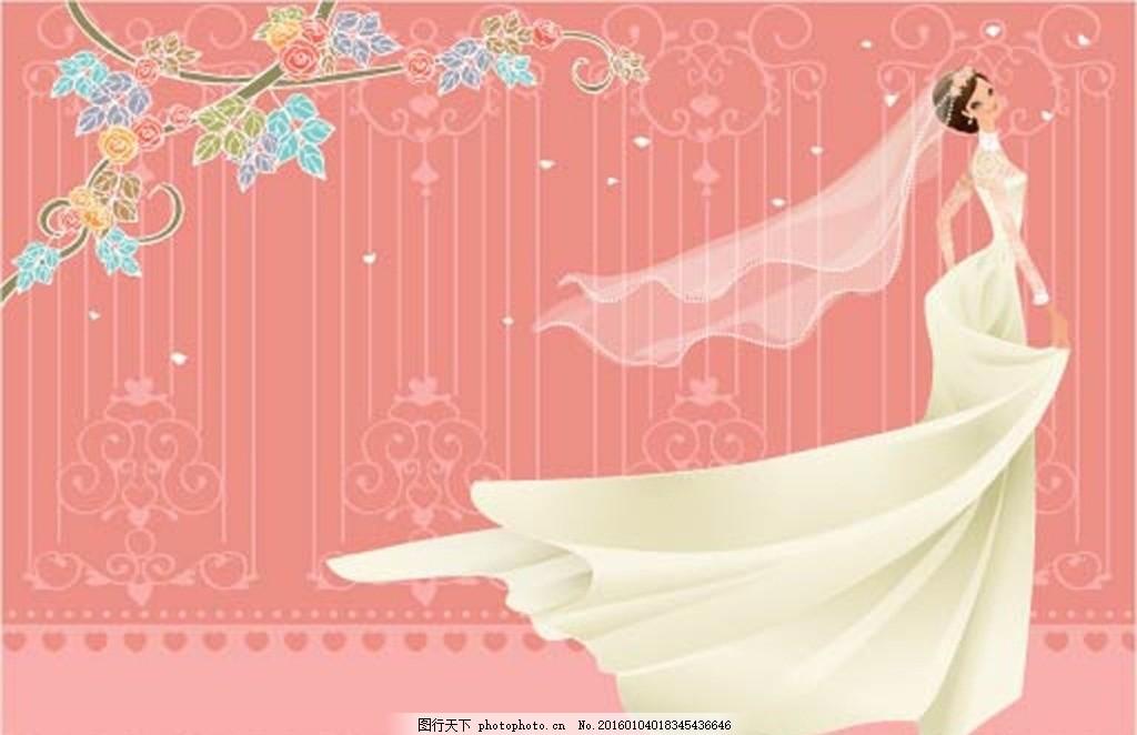玫瑰花瓣 爱心 广告设计 蝴蝶结 丝绸 绸带 挂卡 吊卡 贺卡 书签 海报
