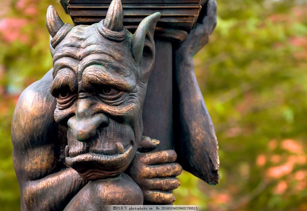 铜雕 物 雕像 塑像 艺术 观赏 人物雕塑 卡通造型 海洋公园