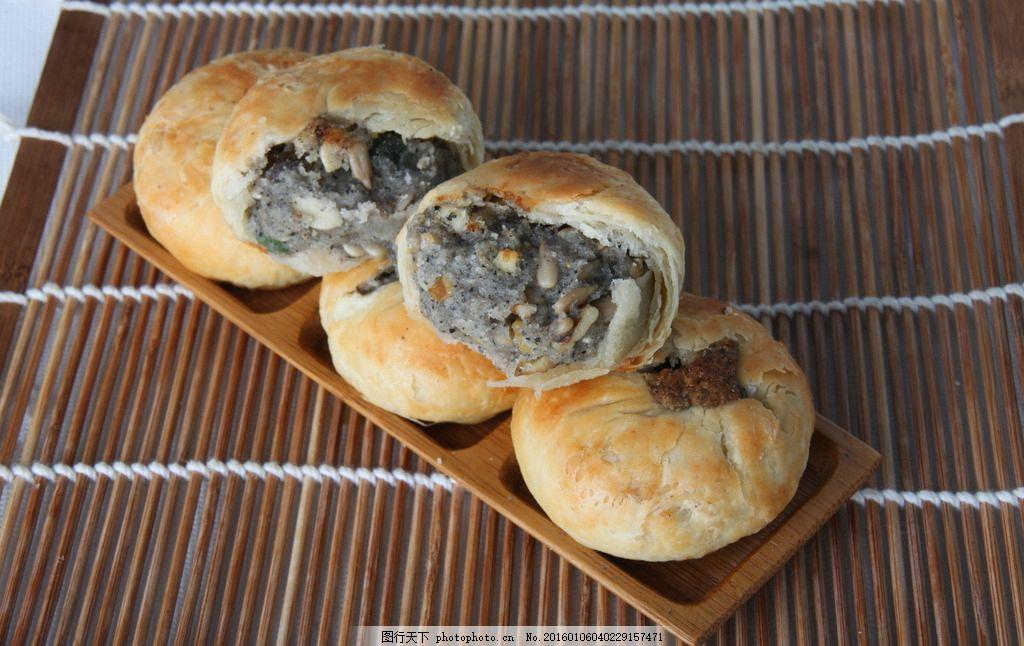 苏式月饼酥饼点心 糕点 传统糕点 摄影