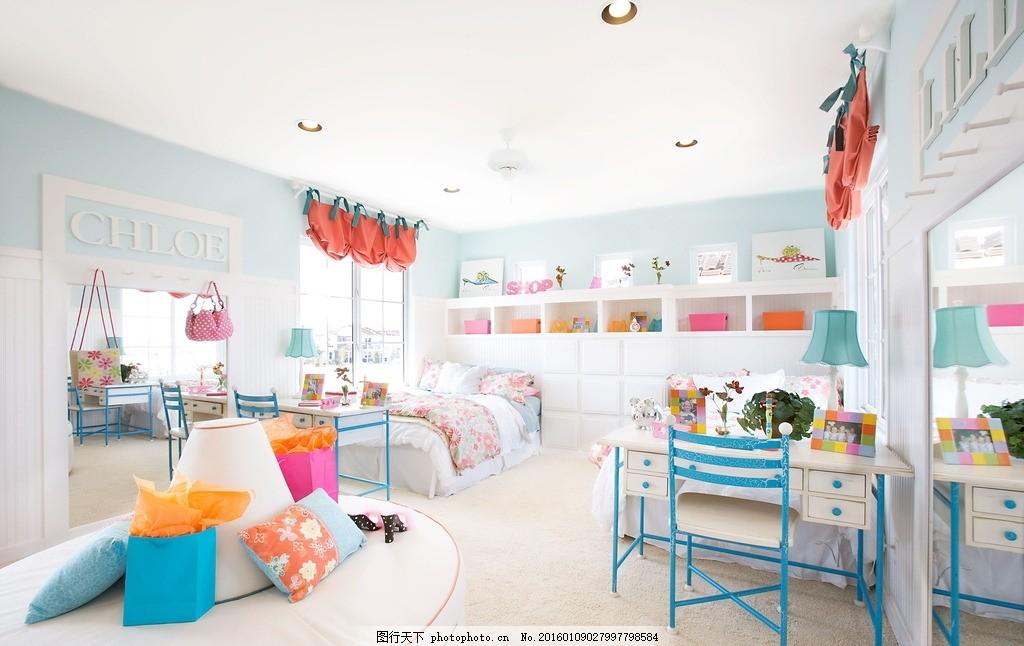 唯美婴儿房 炫酷 家居 家具 装修 浪漫 温馨 欧式风格 白色系