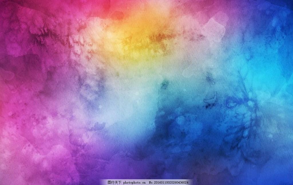 颜料星空手绘画教程