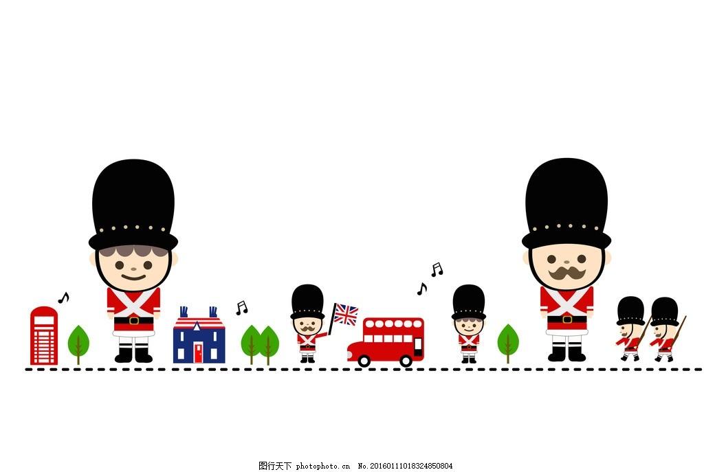 小士兵 动漫 贴图 矢量图 动漫动画图片