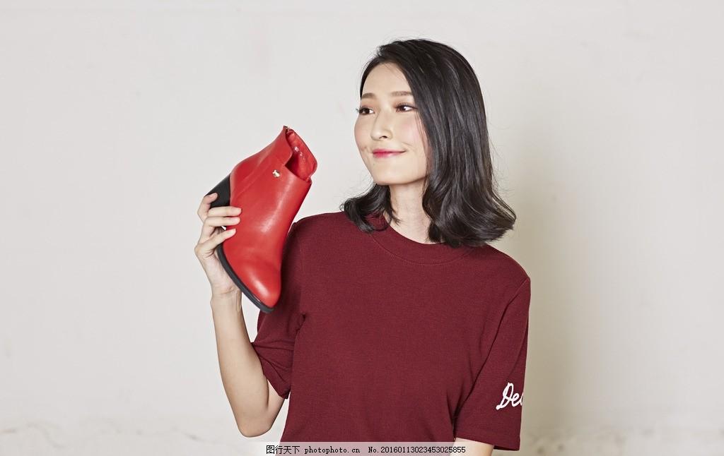 女鞋模特 模特大片 女模 美女 女装 时尚 街拍 模特拍摄 模特上脚
