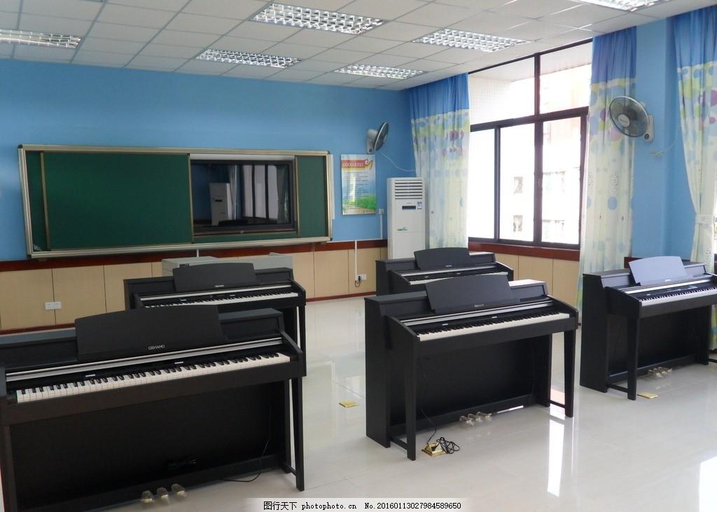钢琴教室图片