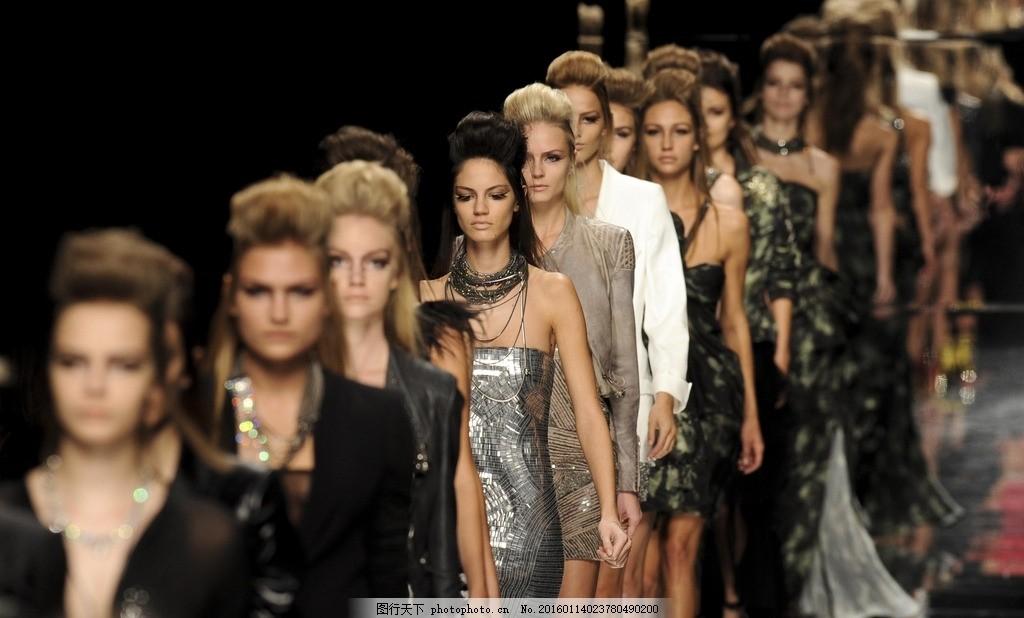 时装模特 时装表演 时装秀