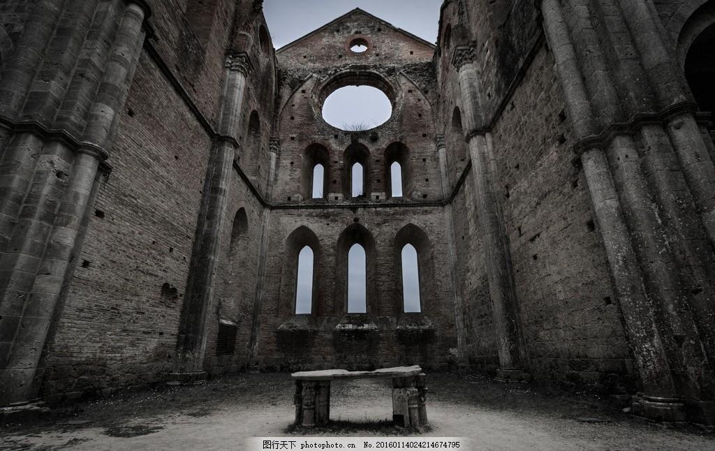 破旧建筑 风光摄影 风景 唯美风景 古建筑 欧式古建筑 建筑景观