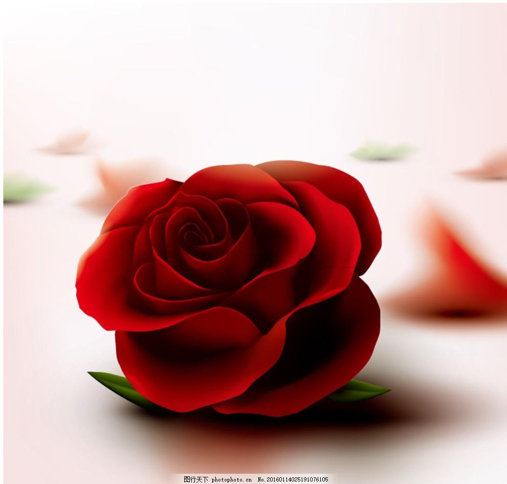 太空泥花朵玫瑰。步骤,图片儿。