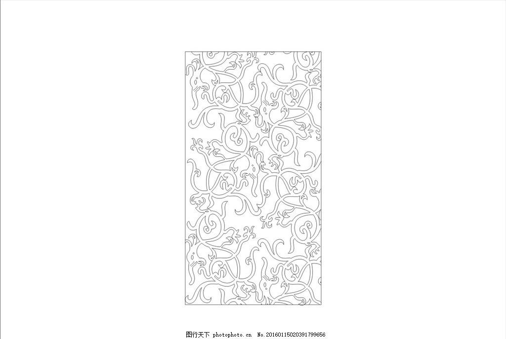 隔断 屏风 镂空线条 边框木雕 欧式镂空窗花 设计 底纹边框 花边花纹