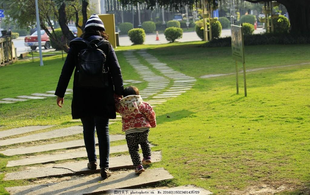 牵手母女 母女牵手背影 母女背影 人物背影 人物背影图片 人物背影