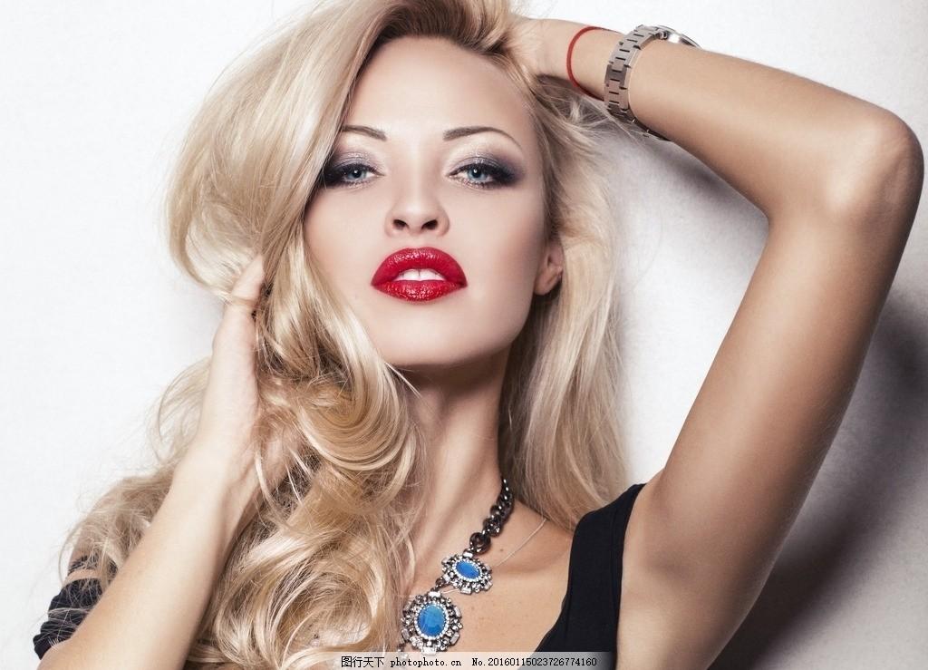 美容彩妆模特