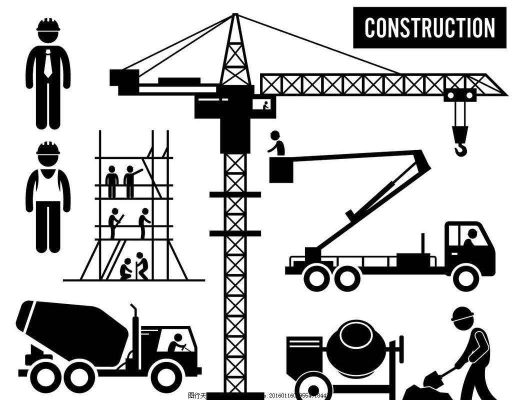 建筑施工剪影