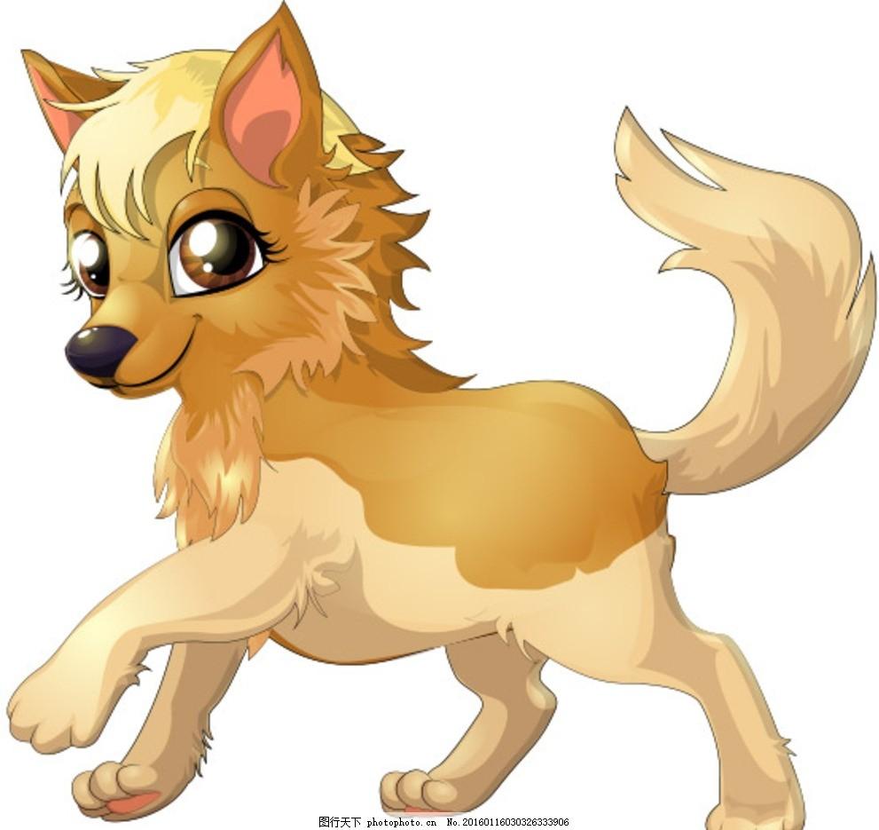 可爱卡通狐狸