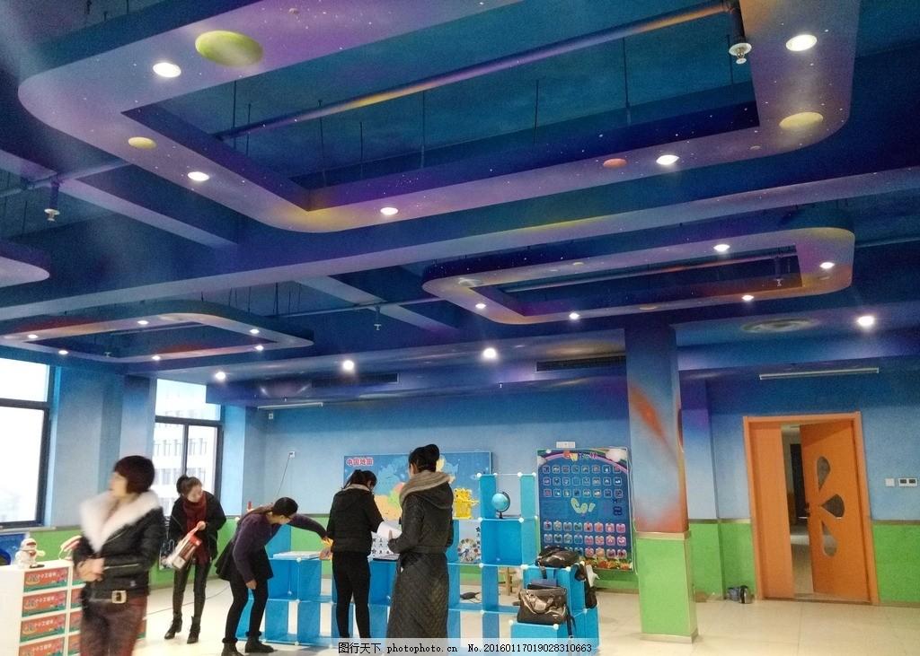 星空 星系 卡通星空 幼儿园墙绘 锐尚墙绘 星空素材 摄影 美术绘画