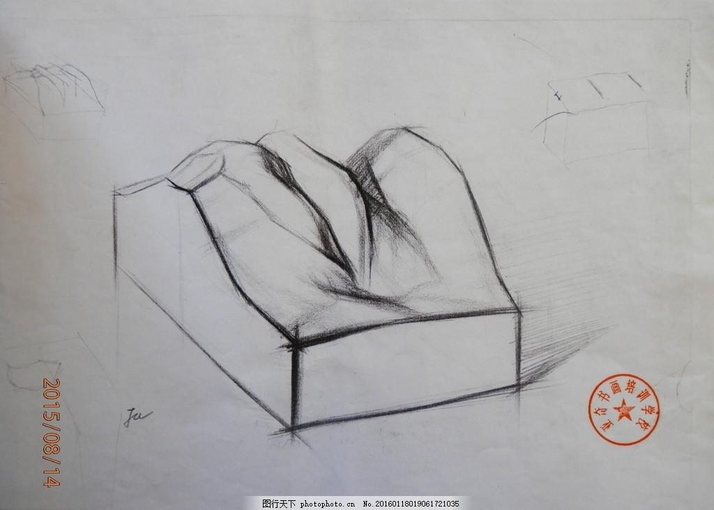 素描 静物 石膏像 结构 五官 写生 大师 嘴巴 摄影 文化艺术 美术绘画