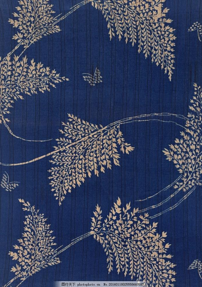 蓝色布料 布料 花纹 蓝色 咔叽布 文理 图案 材质 贴图 素材 材质贴图