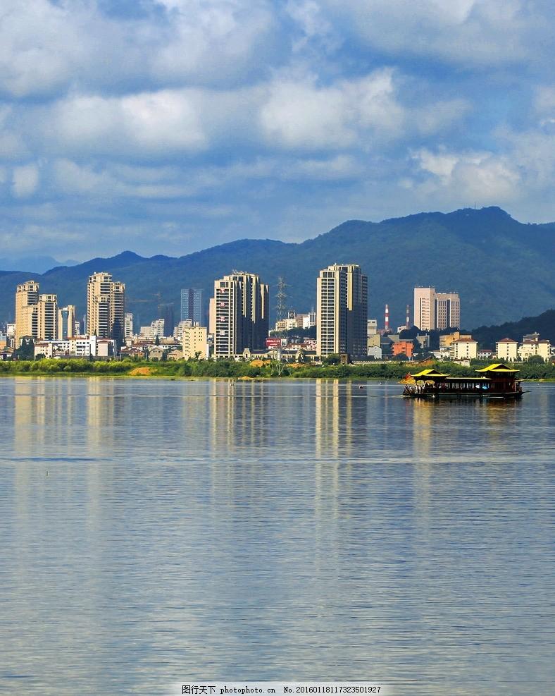 上城市 临安 城东 滨湖新区 水上之城 青山湖 摄影 自然景观 自然风景