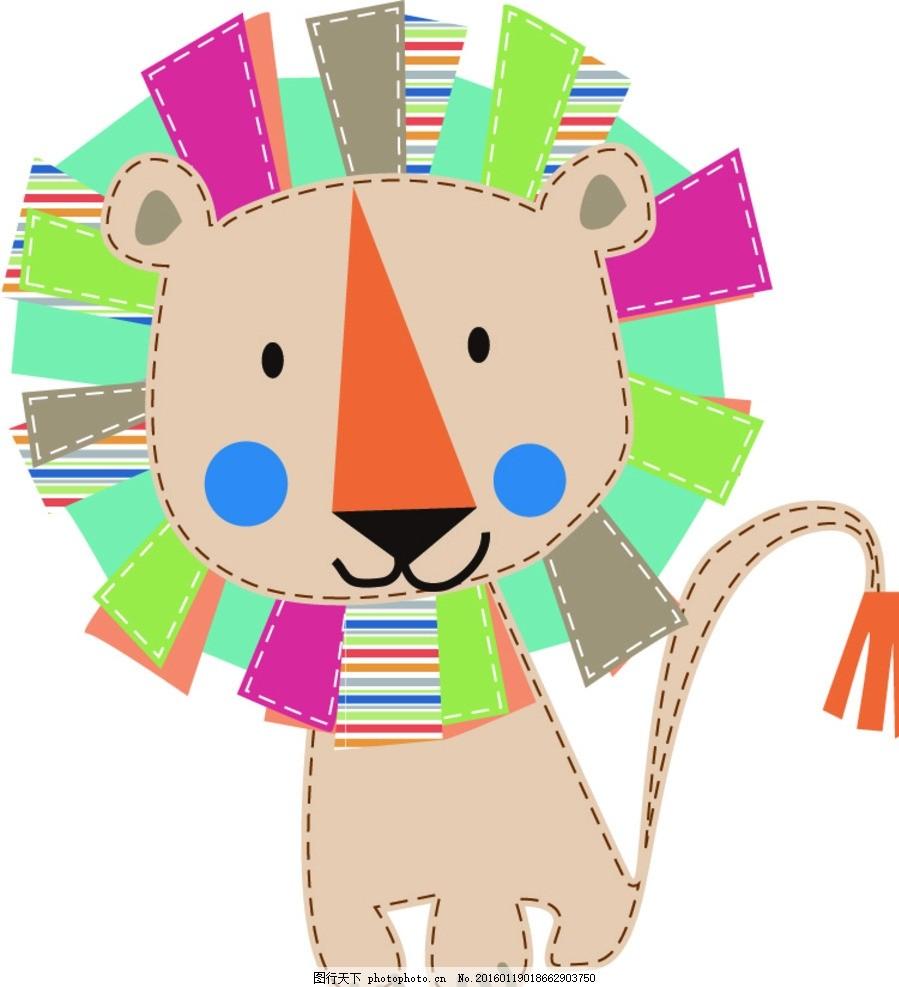 设计 底纹边框 背景底纹 ai动物 背景 可爱卡通 可爱边框 韩国边框