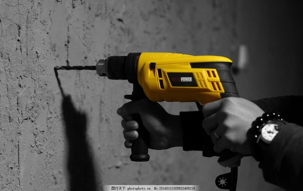 电钻 家居生活 摄影图片 装修工具 生活素材