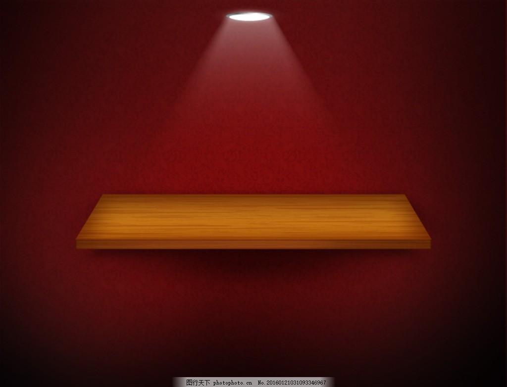 高清欧式木质背景 淘宝 天猫 射灯 木地板 红色 复古 高档 纹理