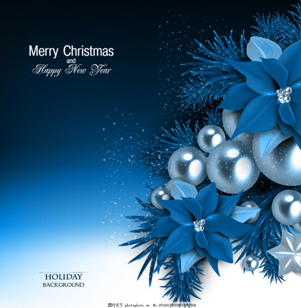 圣诞贺卡 圣诞节 节日 贺卡 卡片 吊球 铃铛 槲寄生 蝴蝶结 装饰 星星