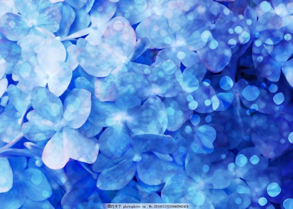 蓝色花瓣图 蓝色 画 素材 贴图 背景 设计 动漫动画 风景漫画 72dpi