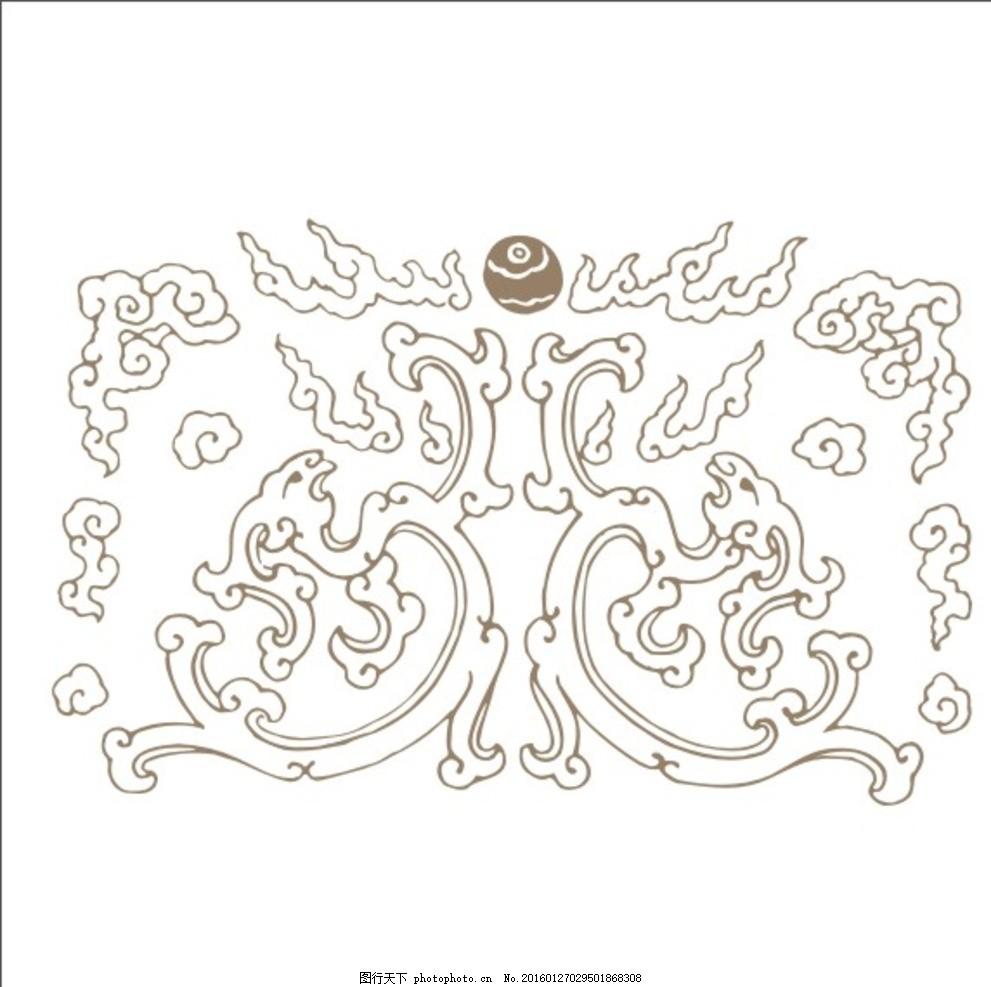 雕刻花纹 花纹雕刻 雕刻边框 边框雕刻 中式花边 民族花边 欧式花边