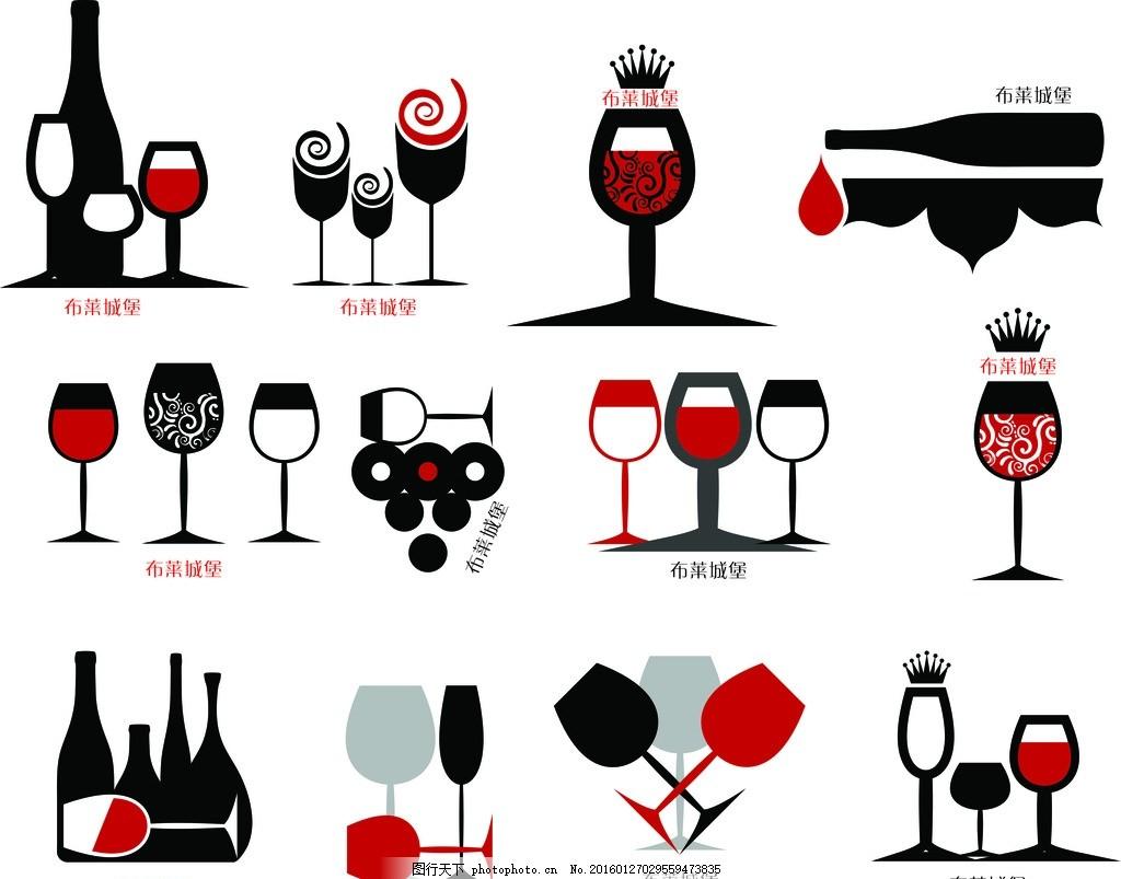 创意酒杯      红酒 创意酒杯      红酒 高脚杯 杯子 时尚 酒庄 设计