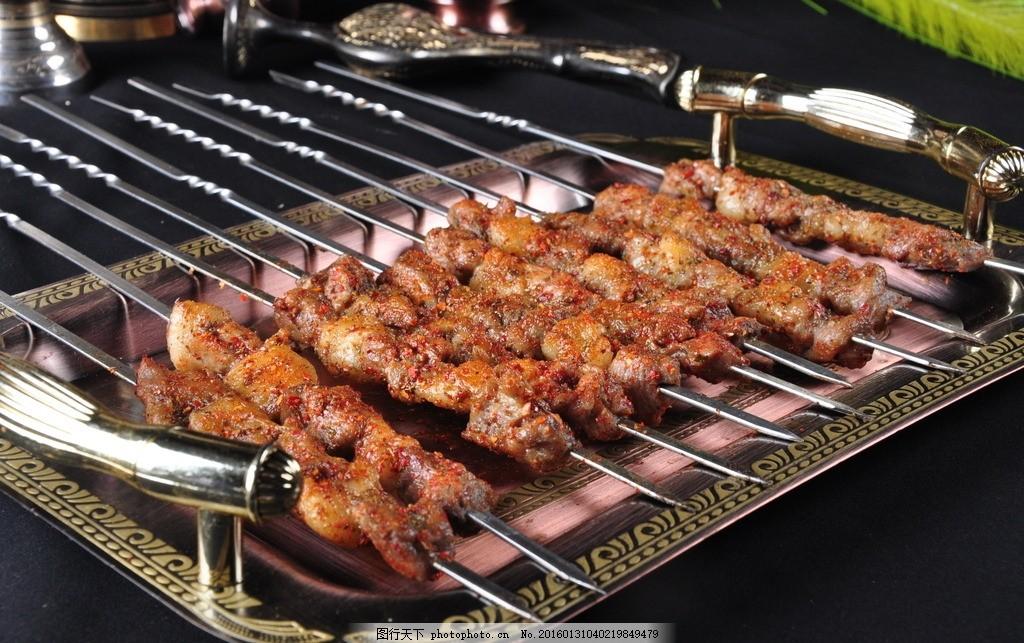 羊肉串 新疆羊肉串 羊肉大串 烤肉串 大排档 烧烤 美食 快餐