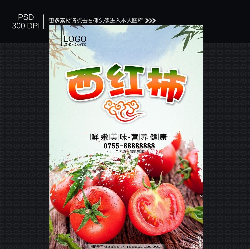 西红柿海报 圣女果 番茄干 西红柿干 小可爱 圣女果海报 蜜糖 养生