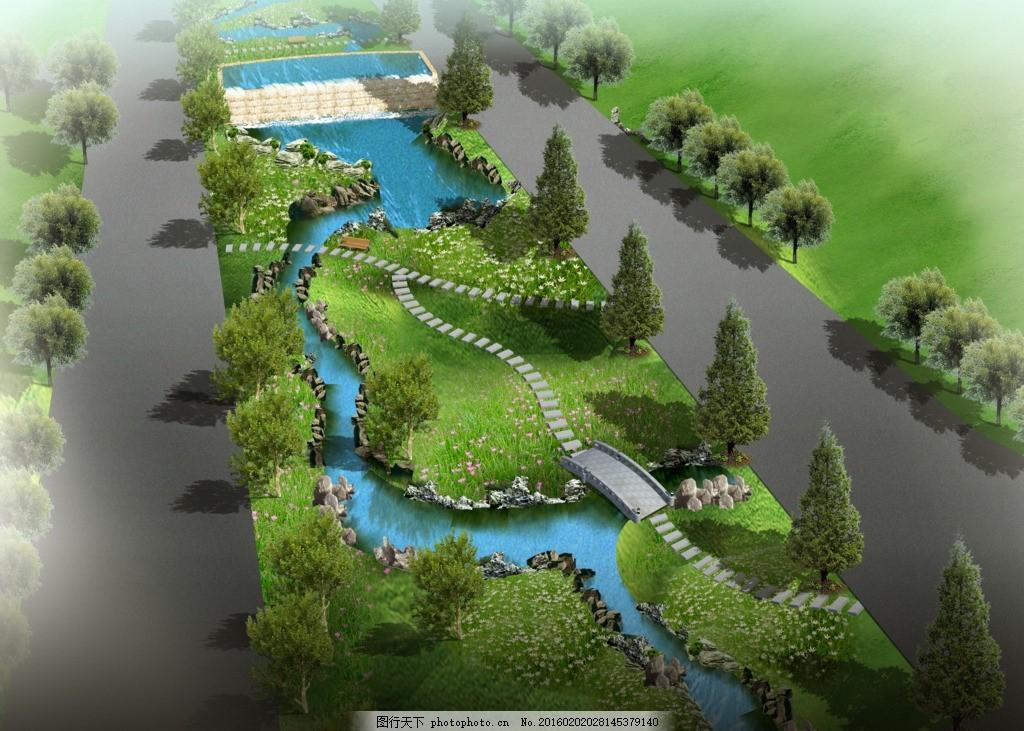 设计素材 建筑外观 外观效果图 景观效果图 居住小区 住宅 环境设计