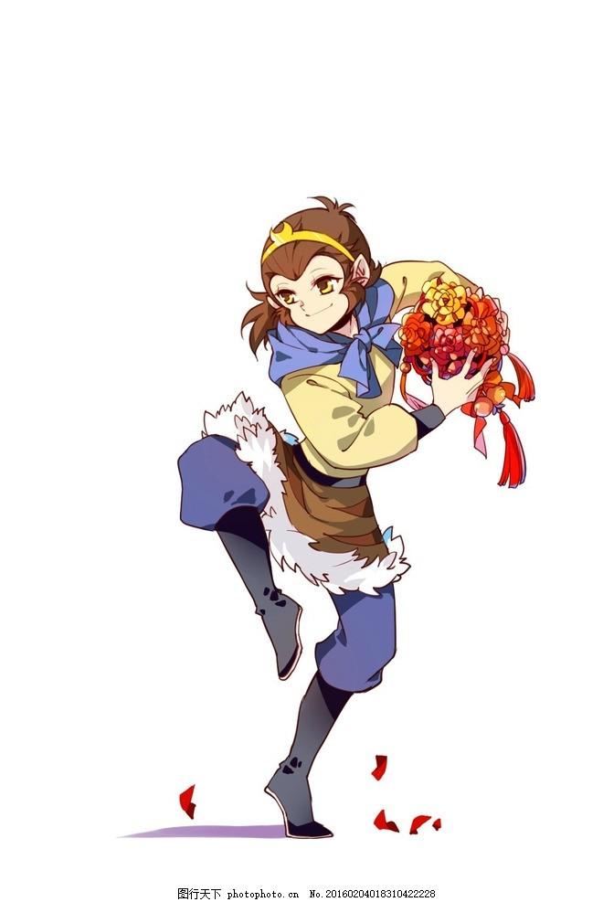 孙悟空 98版 西游记 央视动画部 猴哥 动画片 设计 动漫动画 动漫人物