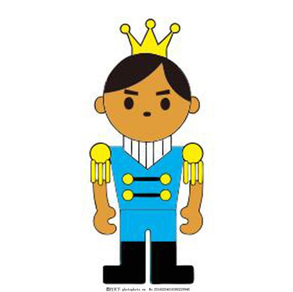 王子 卡通 动漫 皇冠 王国 动漫动画