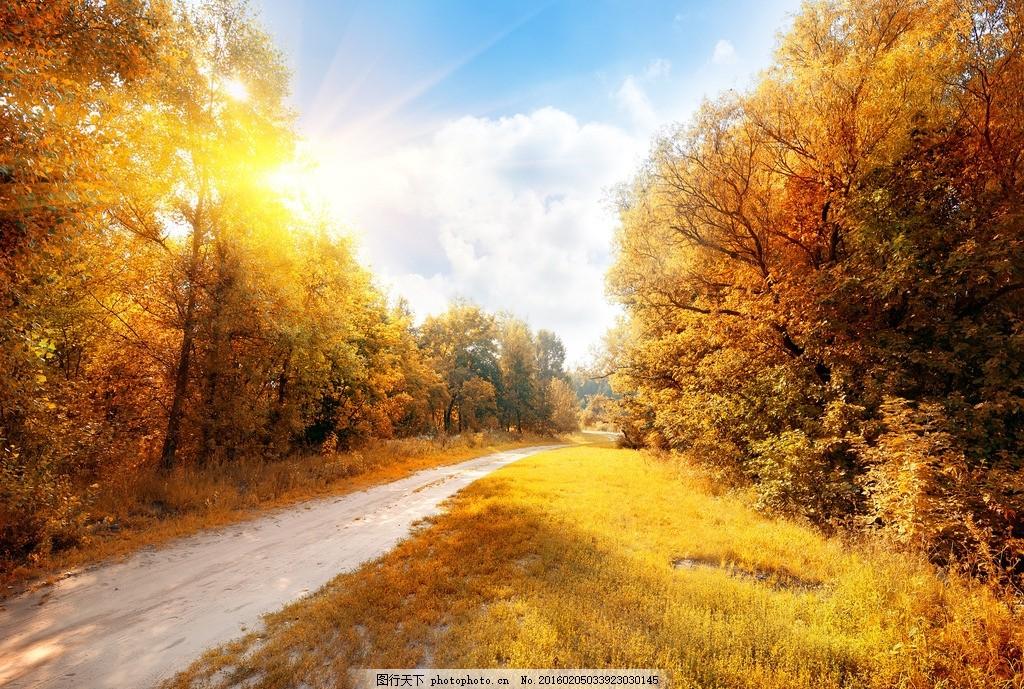 秦皇岛公路 唯美 风景 风光 旅行 夕阳 落日 日落 秋景 摄影
