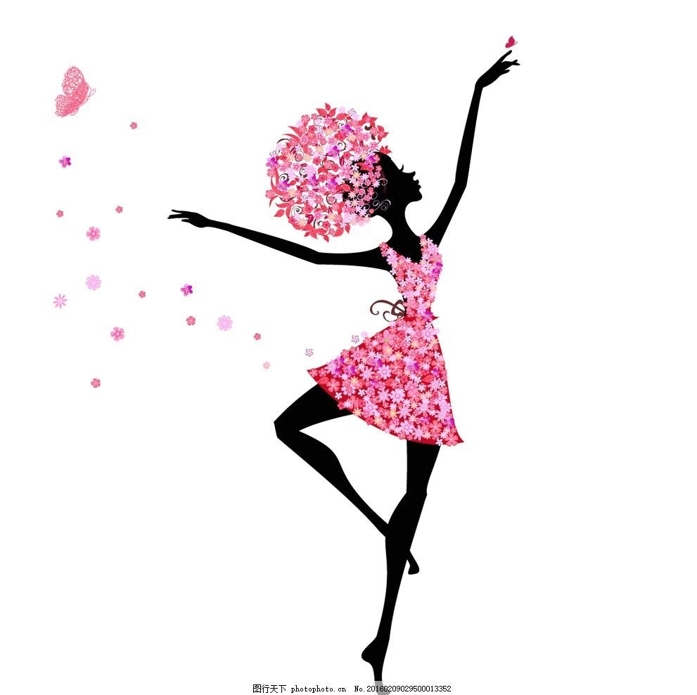 美女 女人 女孩 女性 38 女生 38妇女节 妇女节 手绘 插画 花朵美女
