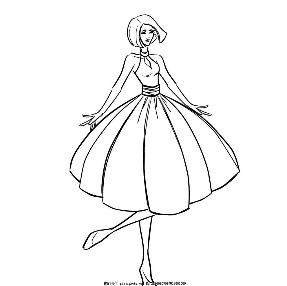 女郎 卡通 卡通人物 卡通美女 时尚 时尚美女 时尚女郎 多彩 创意