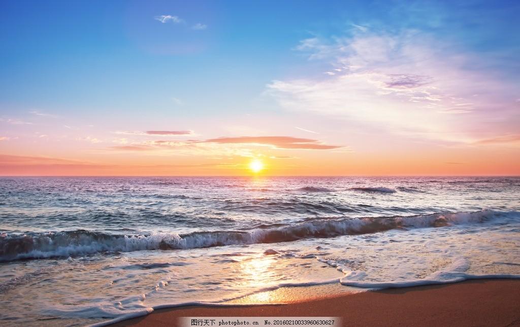 旅行 自然 秦皇岛 大海 海 海边 海景 夕阳 落日 日落 黄昏 傍晚 沙滩
