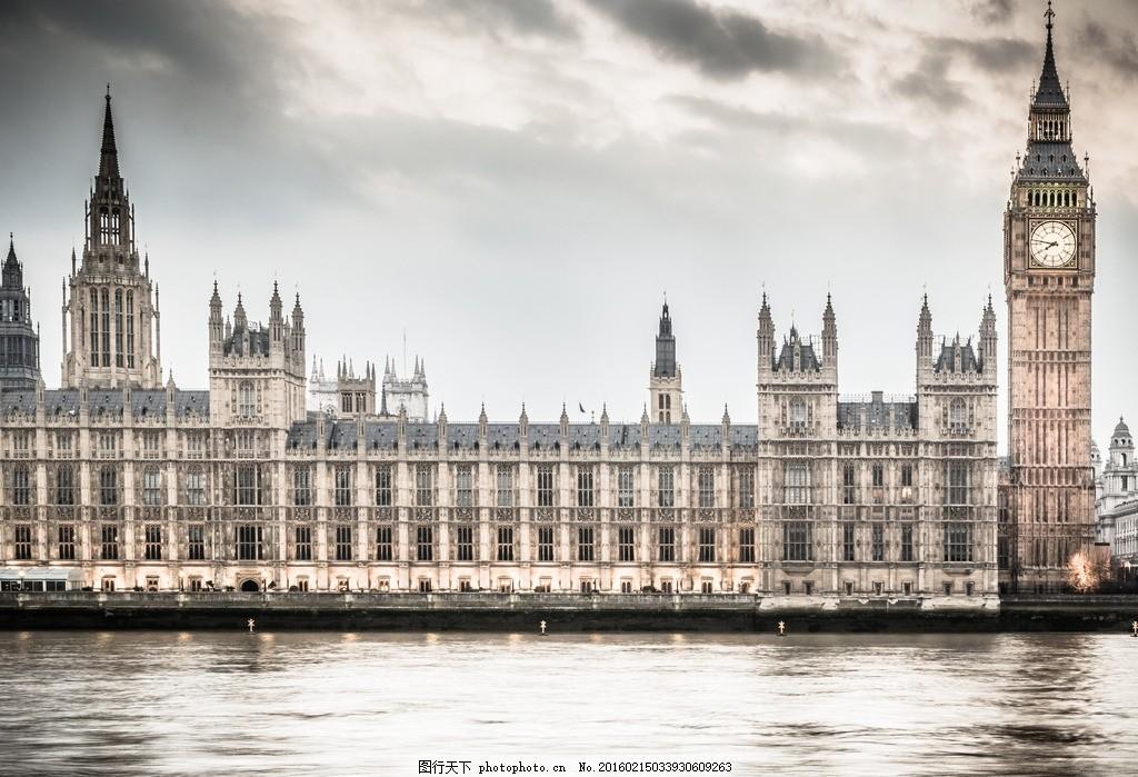 伦敦大本钟,英国 摄影 国外旅游-图行天下图库