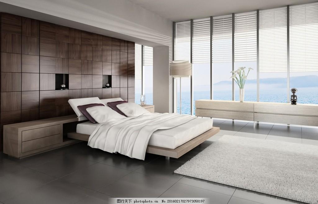 唯美卧室 唯美 浪漫 简洁 简约 欧式 家居 家具      大床 木地板