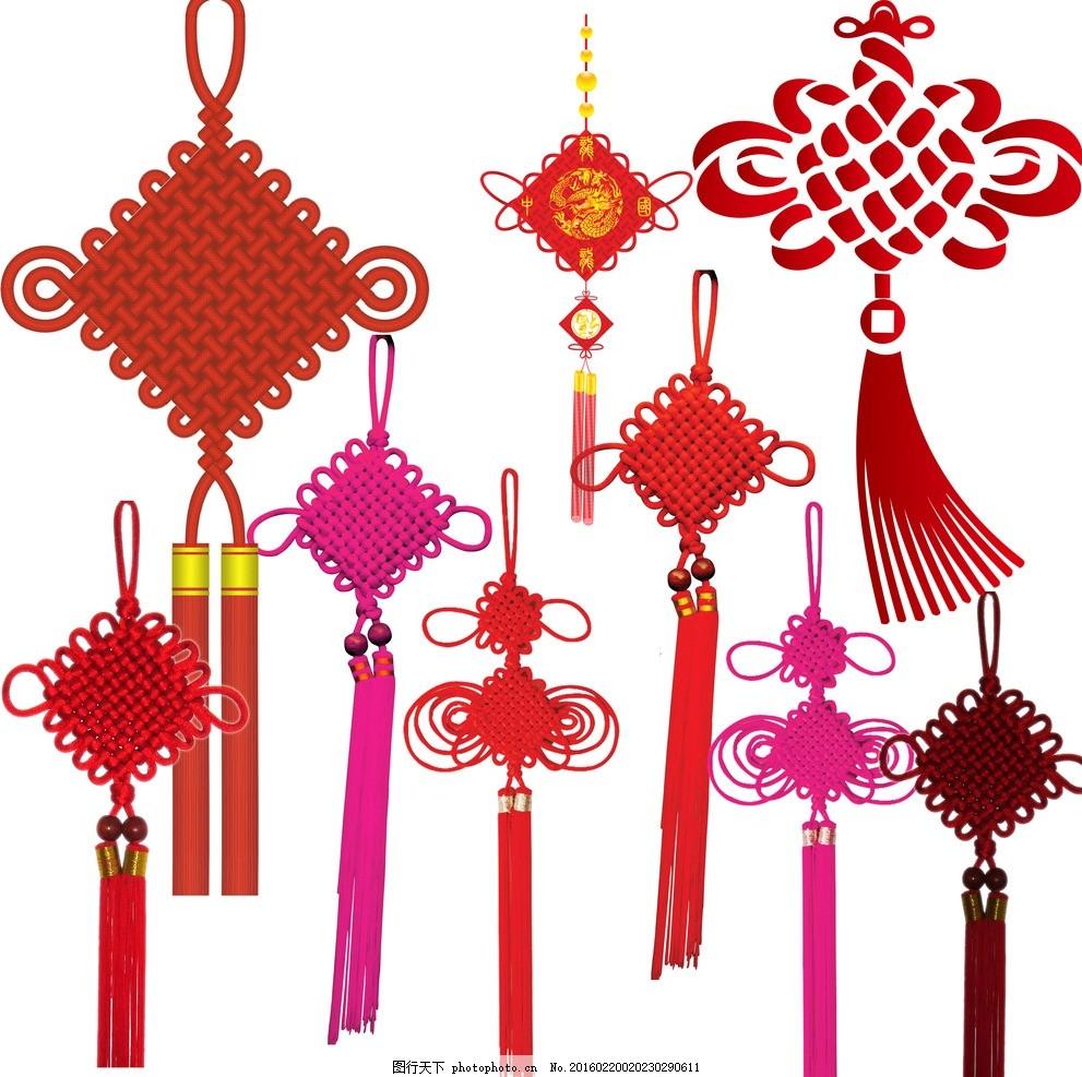中国结 过年 新年快乐 手工编织 中国画 中国风 春天 植物 壁纸墙纸