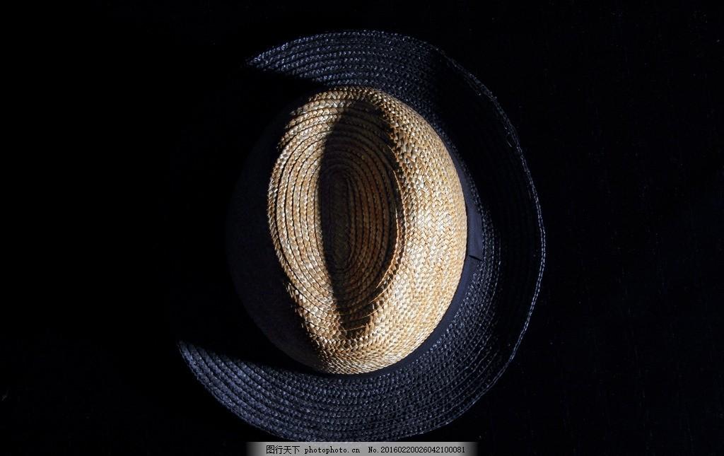 静物摄影 创意摄影 草帽