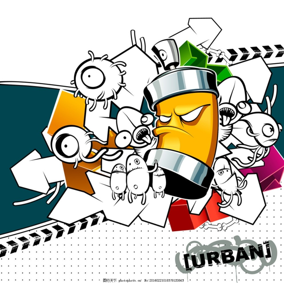 卡通形象 可爱 动漫 动画 砝码 炫酷 涂鸦 动漫动画