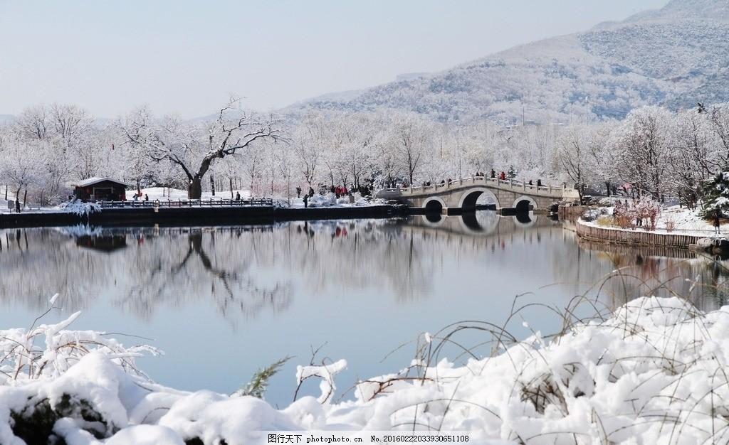 公园雪景 北京植物园雪 冬景 冬天 美丽雪景 冬日风景 冬日景色