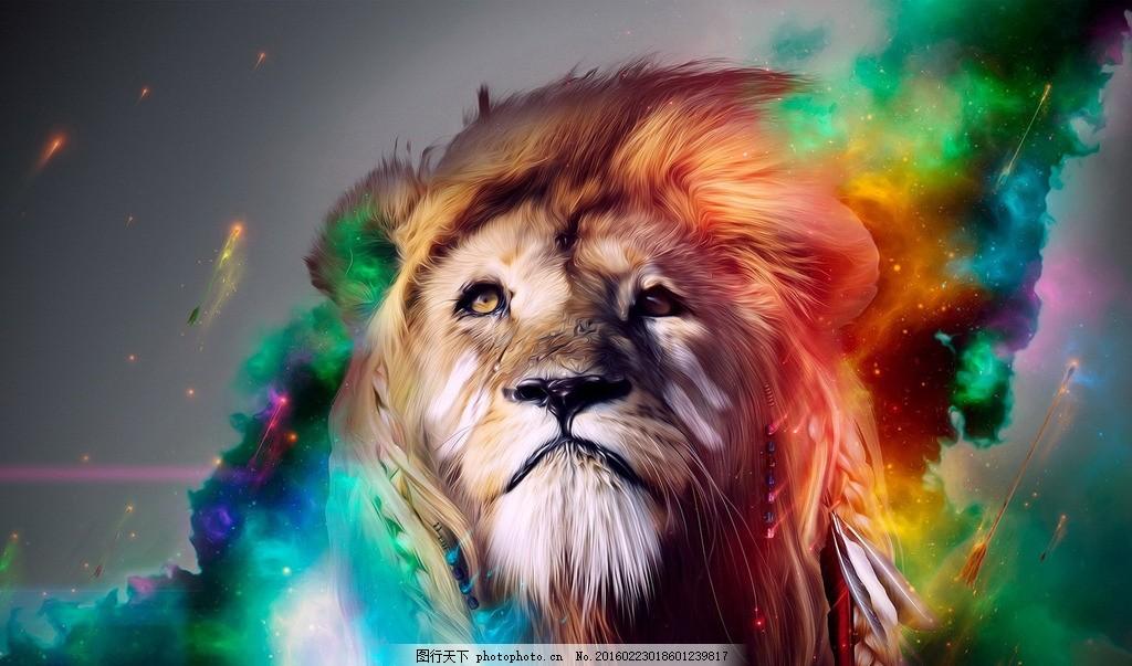 狮子 动漫 动物 王 动漫动画