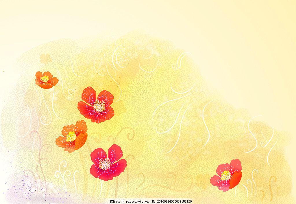 手绘花纹 花纹 手绘 背景底纹 儿童 卡通 儿童手绘 卡通画 儿童画