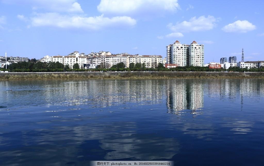 绵阳 图片素材 城市 都市 涪江 河流 蓝天 白云 旅游摄影 四川风景