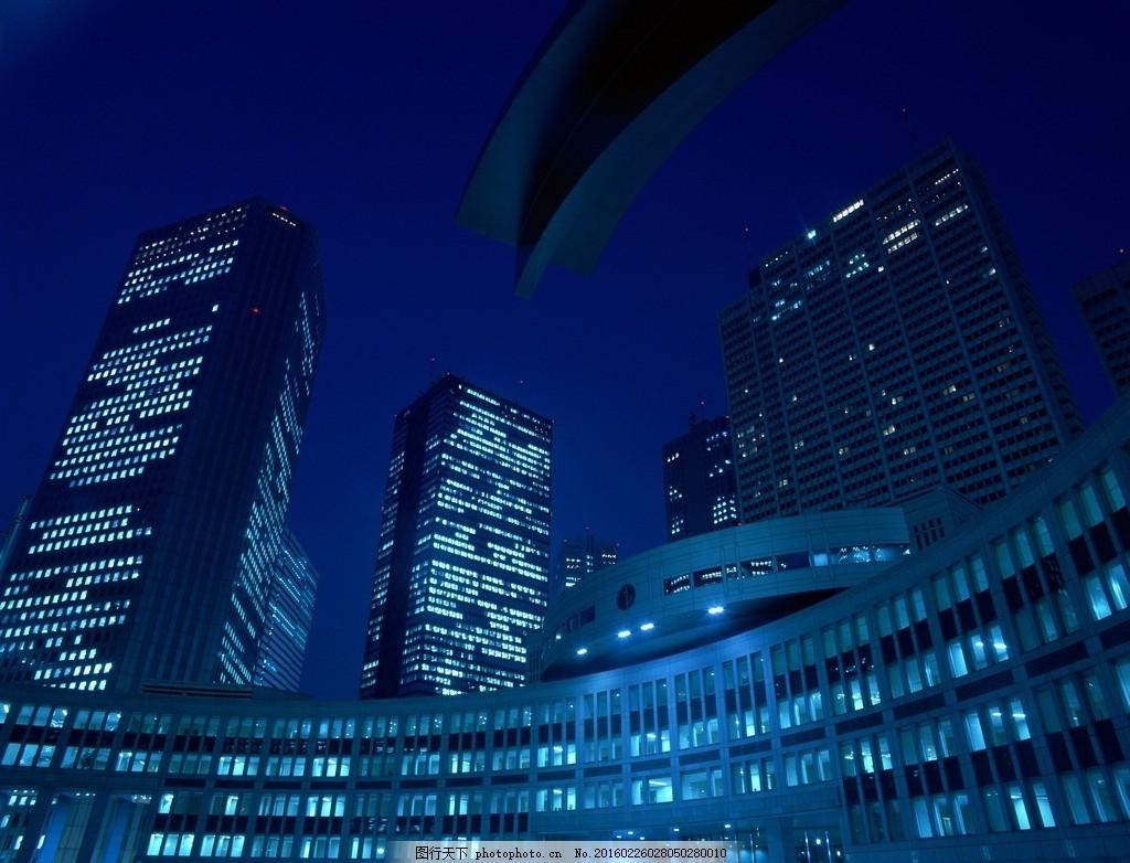 夜景大厦 大厦 街道 建筑 天空 摄影 建筑园林 建筑摄影 效果图jpg