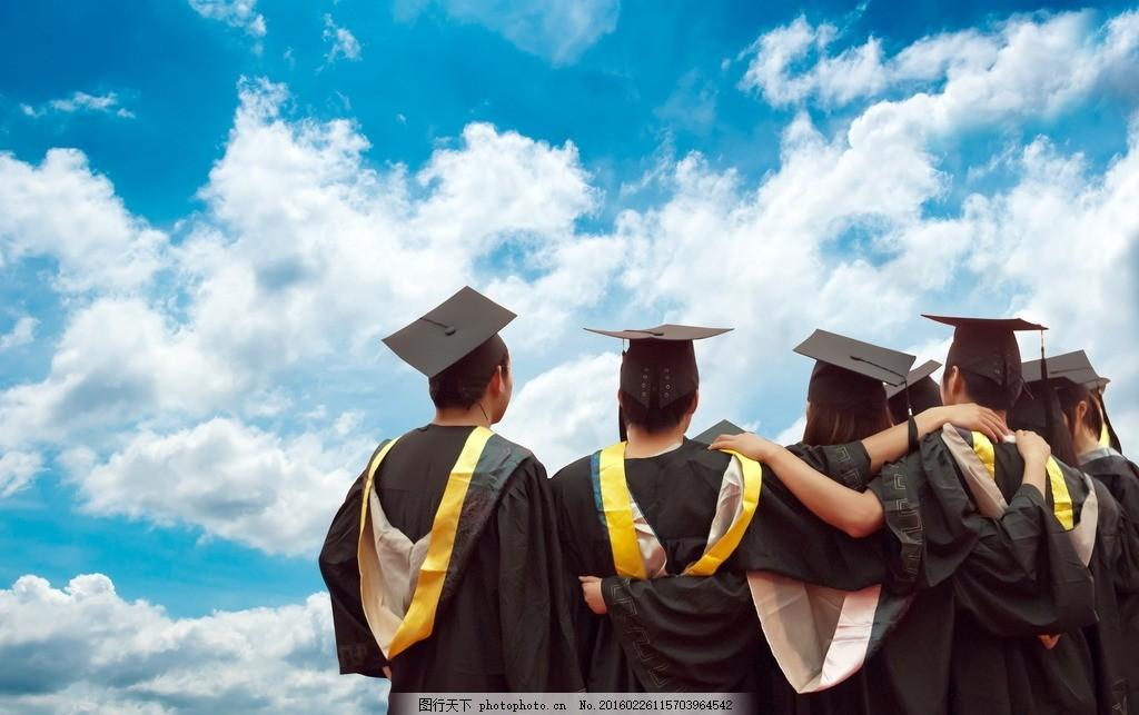 毕业季 大学生 毕业 学生 大学 学习 学士服 学士照 毕业照 学士帽 帽