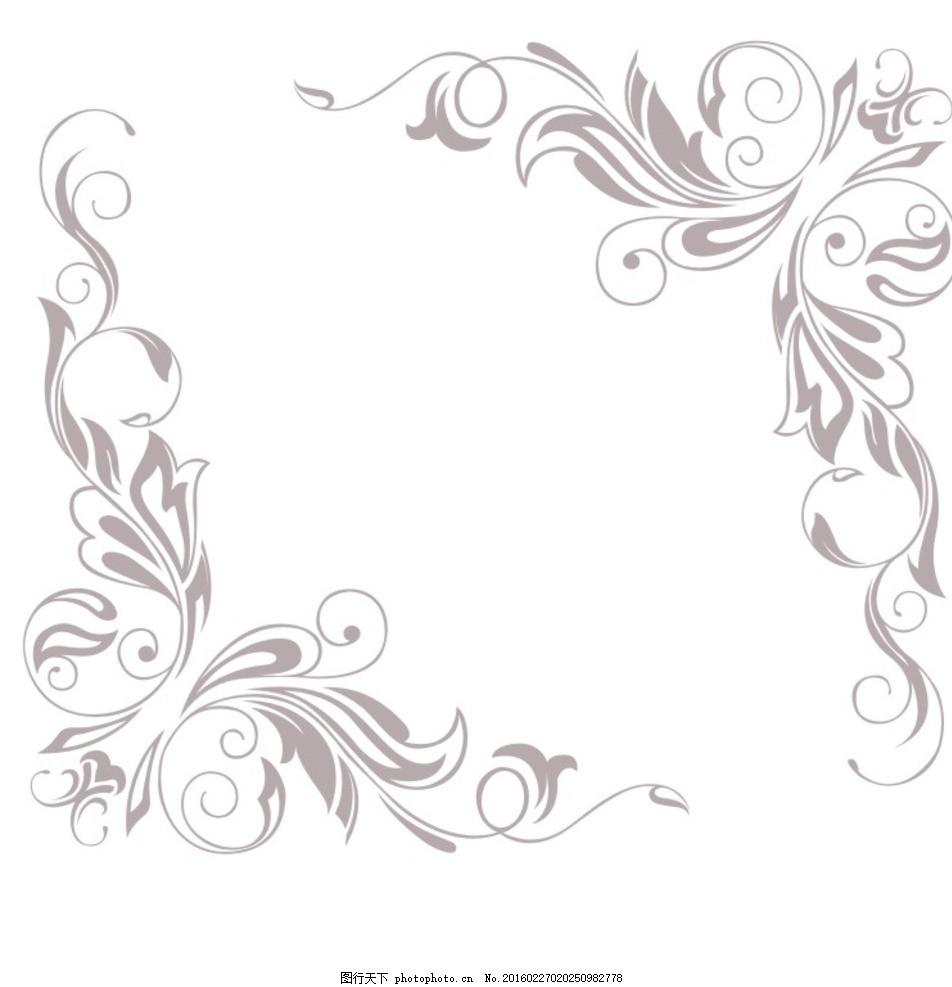 硅藻泥对角花 硅藻泥 对角花 电视背景 欧式 简约 设计 底纹边框 背景