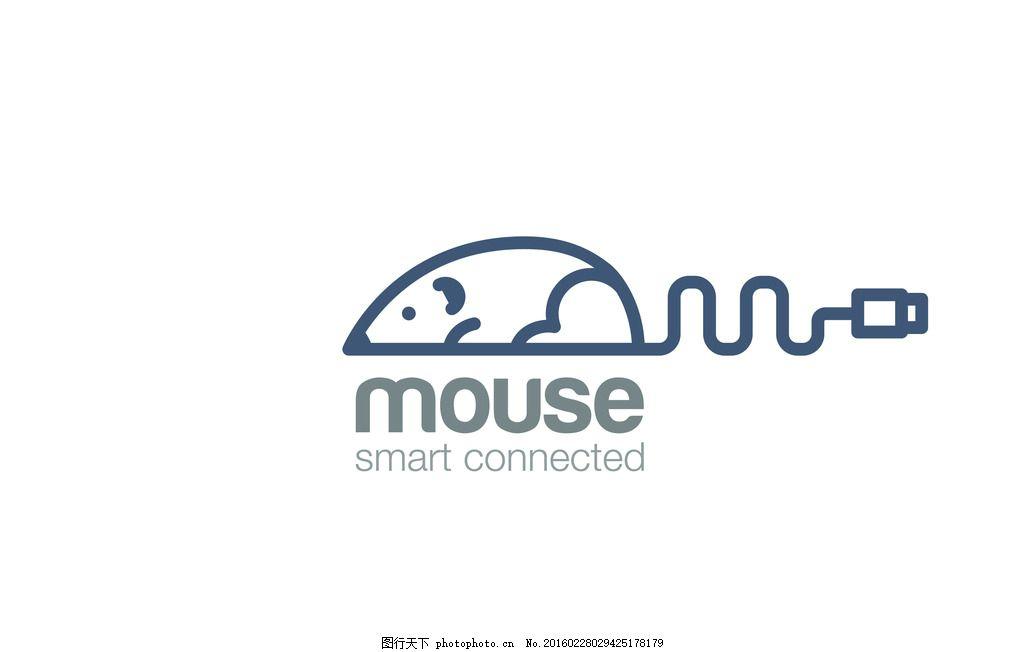鼠标logo 科技 公司标志 创意标志 标志设计 商标