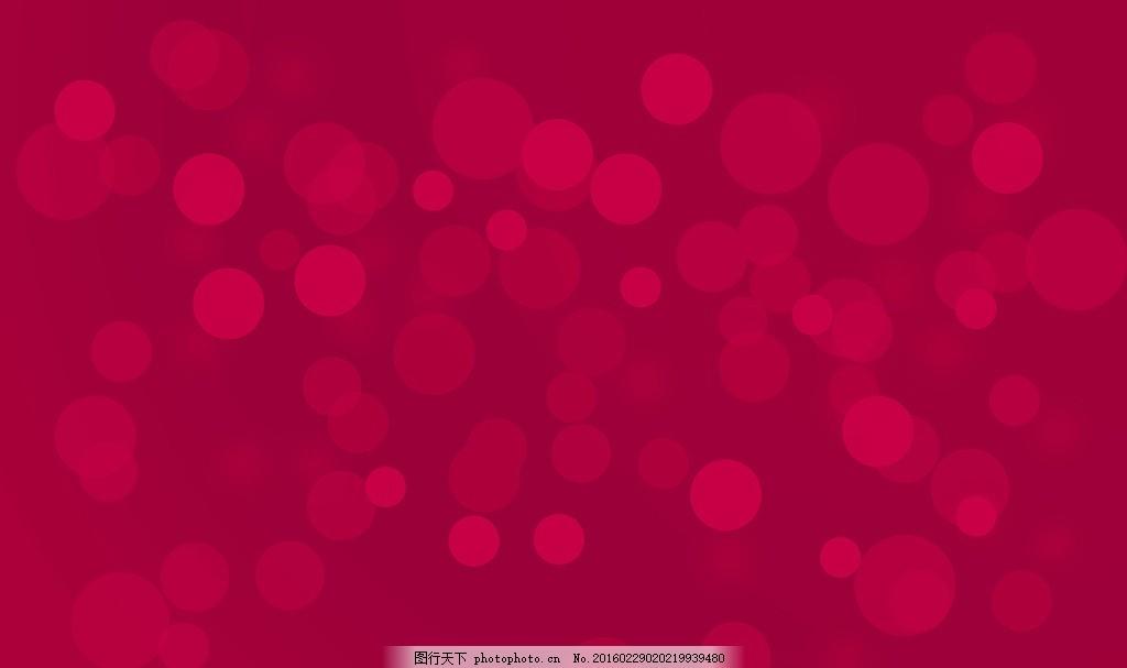 红色圆圈背景